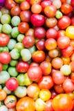 Een stapel van tomaten Verse tomaten Royalty-vrije Stock Foto's