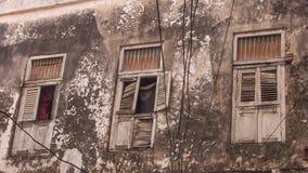 Een steeg in Stonetown, Zanzibar royalty-vrije stock foto