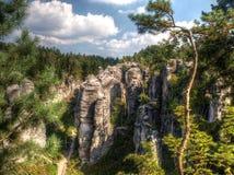 Een steile rots Royalty-vrije Stock Afbeeldingen