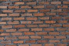 Een sterke cluster van oranje baksteen Royalty-vrije Stock Afbeeldingen
