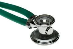 Een stethoscoop Stock Foto's