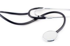 Een stethoscoop royalty-vrije stock afbeelding