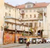 Een straat Stock Afbeeldingen