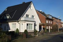 Een straat in Duitsland Stock Foto