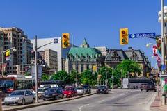 Een straat in Ottawa Royalty-vrije Stock Afbeelding