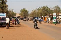 Een straat van Bamako stock fotografie