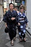 Een straat van Kyoto in Japan stock afbeelding