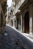 Een straat van Ortigia royalty-vrije stock afbeelding