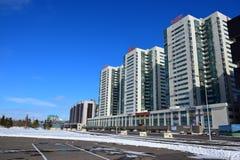 Een straatmening in Astana Royalty-vrije Stock Fotografie