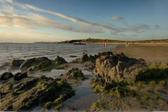 Een strand op Anglesey Royalty-vrije Stock Foto's