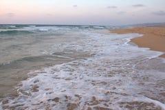 Een strand plotseling Royalty-vrije Stock Afbeelding
