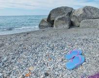 Een strandglimp in Sicilië Royalty-vrije Stock Afbeelding