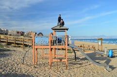 Een Strandspeelplaats Stock Fotografie