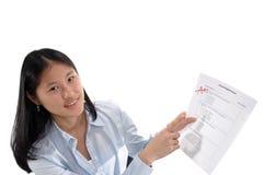 Een student Stock Foto