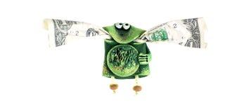 Een stuk speelgoed kikker Royalty-vrije Stock Afbeelding