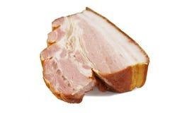 Een stuk van bacon stock fotografie