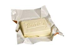 Een stuk van boter Royalty-vrije Stock Foto