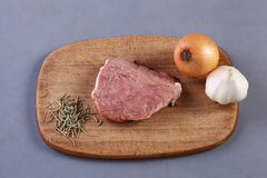 Een stuk van ruw vlees Royalty-vrije Stock Fotografie