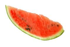Een stuk van watermeloen. stock fotografie