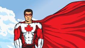 Een Super Canadees royalty-vrije illustratie