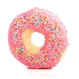 Een sweetpinkdoughnut Stock Foto's