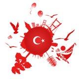 Een symbool van Istanboel Stock Fotografie