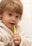 Een tandenzorg Stock Foto's