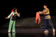 Een teken van de opera van liefdejiangxi een weeghaak Stock Foto's