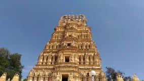 Een tempel binnen het Paleis van Mysore Stock Foto's