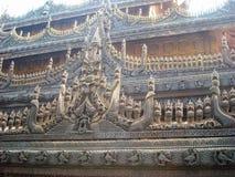 Een tempel in Birma stock afbeeldingen