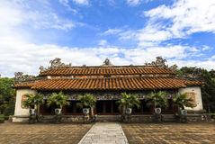 Een tempel in Hue Palace, Vietnam Stock Afbeeldingen