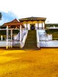 Een tempel van Sri Lanka Royalty-vrije Stock Afbeeldingen