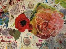 Een textieltextuur Stock Foto