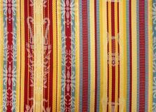 Een textieltextuur Royalty-vrije Stock Foto's