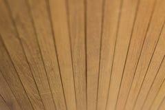 Een textuur en een detail van houten omheining Stock Fotografie