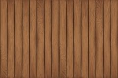 Een textuur van houten planken stock illustratie