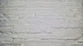 Een textuur van muur witte bakstenen Stock Fotografie