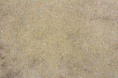 Een textuur van oude bruine kleine stenen op concrete vloer aan zwembadkant Royalty-vrije Stock Afbeeldingen