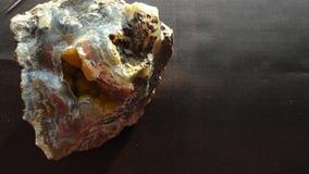Een textuurachtergrondafbeelding van minerale agateo stock afbeelding