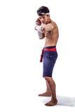 Een Thaise bokser Royalty-vrije Stock Afbeeldingen