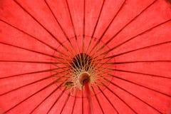 Een Thaise kleur 2 van paraplu met de hand gemaakte beautifu Royalty-vrije Stock Foto