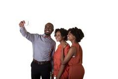 Een tiener en zijn vrienden of siblings Royalty-vrije Stock Foto