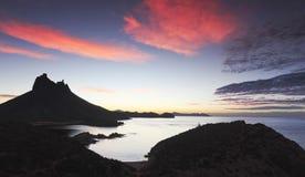 Een Toneelmening van Mirador-Vooruitzicht, San Carlos, Sonora, Mexico Royalty-vrije Stock Fotografie