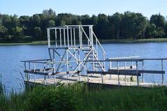 Een toren voor het springen Royalty-vrije Stock Afbeelding
