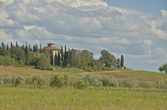 Een Toscaans huis Stock Foto's
