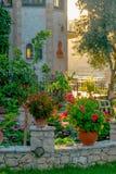 Een Traditionele Griekse Woning op Zakynthos royalty-vrije stock foto's