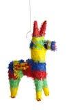 Een traditionele Mexicaanse Pinata op Wit Royalty-vrije Stock Foto