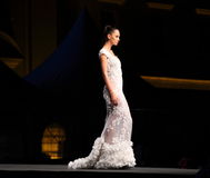 Een transparante lange kleding Royalty-vrije Stock Foto