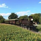 Een trein Royalty-vrije Stock Foto's
