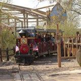 Een Treinrit van Oud Tucson, Tucson, Arizona Royalty-vrije Stock Afbeelding